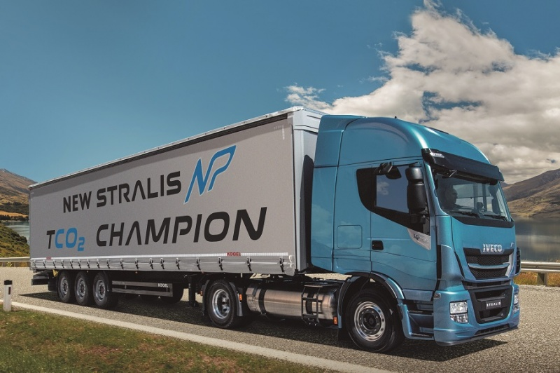 UNILEVER tests IVECO Stralis NATURAL POWER as an ...