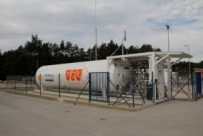 PGK Śrem - the LNG fuelling station in Mateuszewo