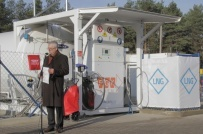 PGK Srem - The official opening of LNG/CNG Station by President Pawel Wojna